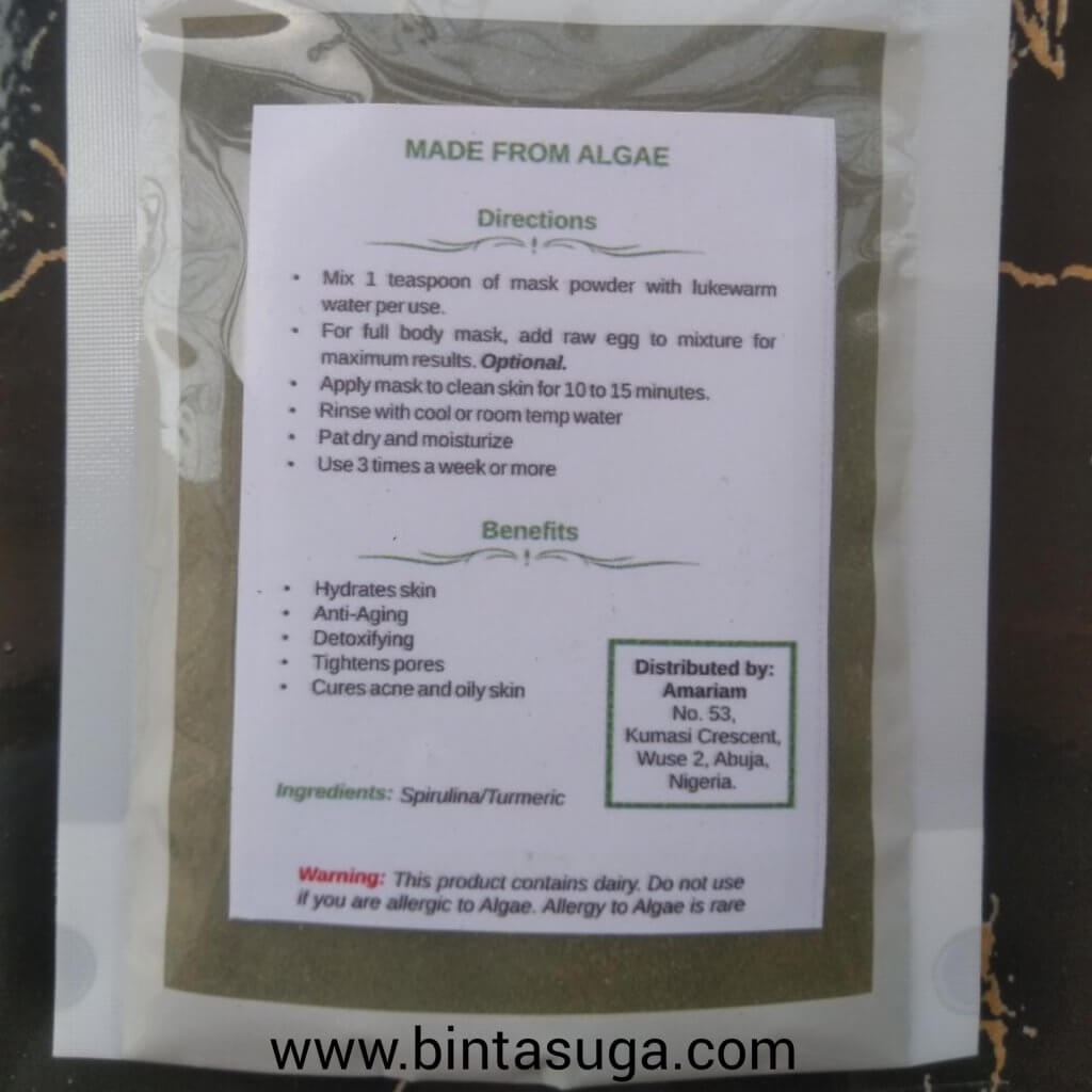 Thél miracle face mask
